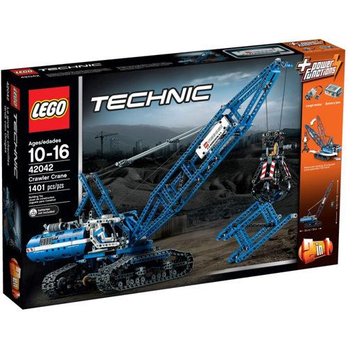 【LEGO 樂高積木】Technic 科技系列-履帶式起重機 LT 42042