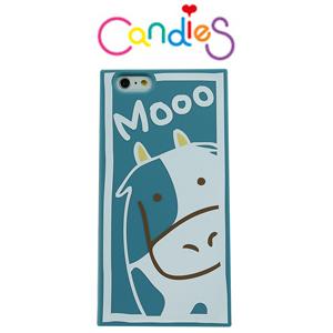 【Candies】動物12生肖外殼(牛)IPhone 6 / 6S 可愛方便實用好夥伴