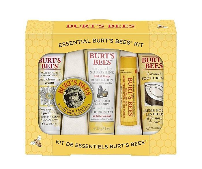 【彤彤小舖】Burt s bees 蜜蜂爺爺-從頭到腳經典禮盒 5件組 美國原廠
