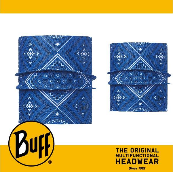 BUFF 西班牙魔術頭巾 寵物頭巾系列 BF113119-707-25 寵物經典頭巾M/L 旅人藍紋
