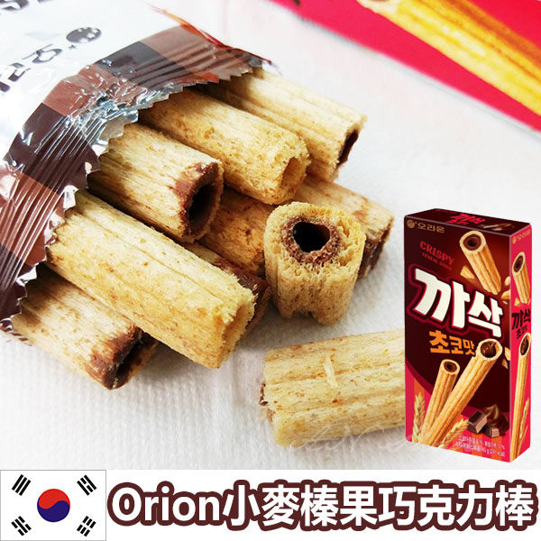 韓國Orion 小麥榛果餅巧克力棒 45g【AN SHOP】