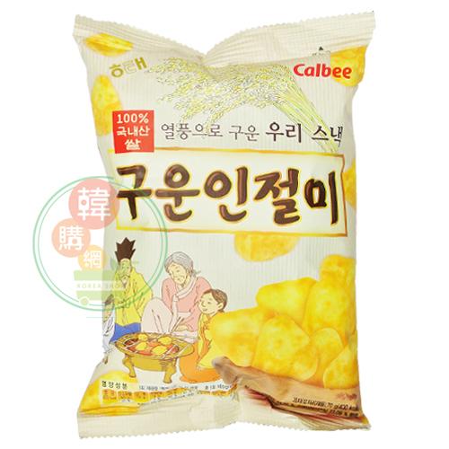 【韓購網】韓國海太烤麻糬餅乾70g★HAITAI★Calbee韓國零食餅乾
