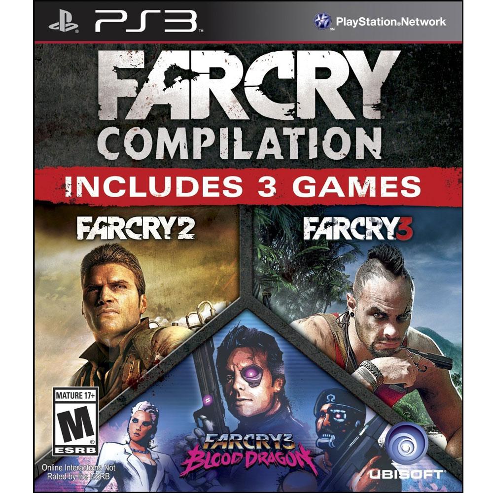 PS3 極地戰嚎 三合一合輯 (極地戰嚎2+3+血龍) 英文美版 Far Cry Compilation