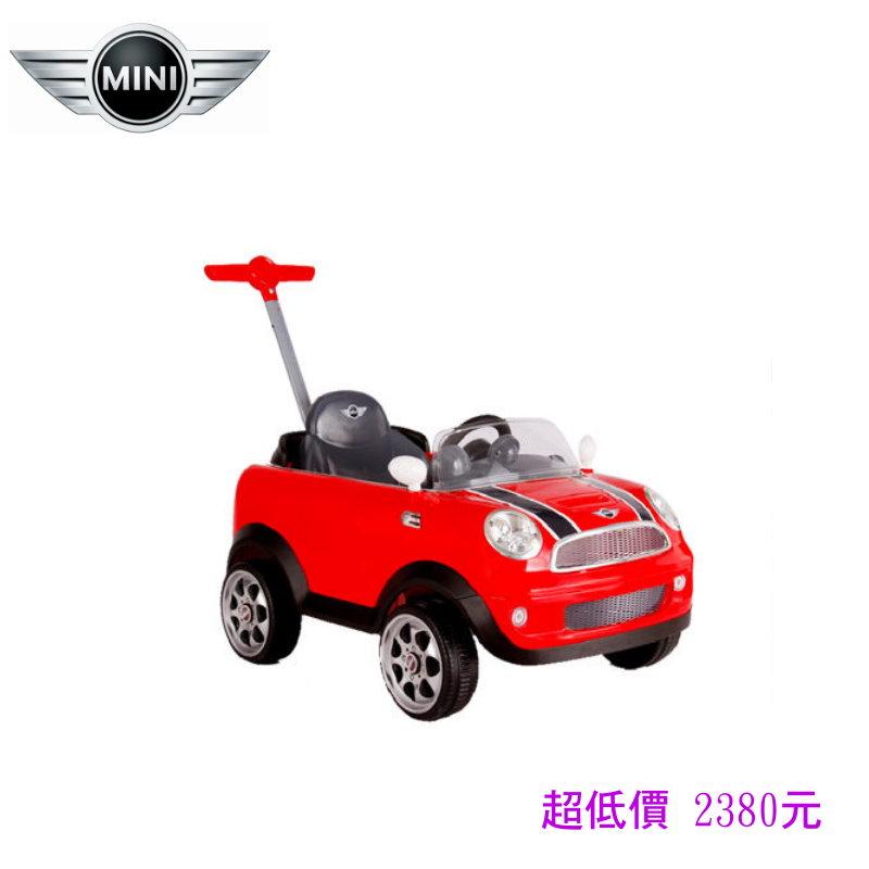 *美馨兒* Mini CooperS 後控四輪助步車(非電動車)~店面經營/兒童玩具