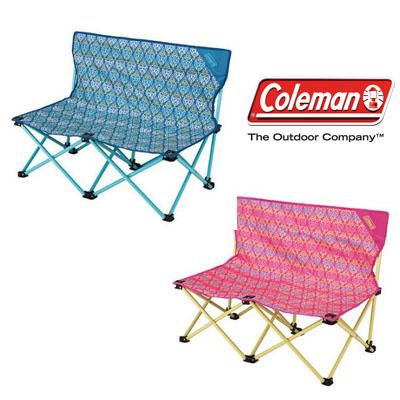 Coleman 美國 | 藍、紅葉圖騰情人椅 | 秀山莊(CM-22002、CM-22003)