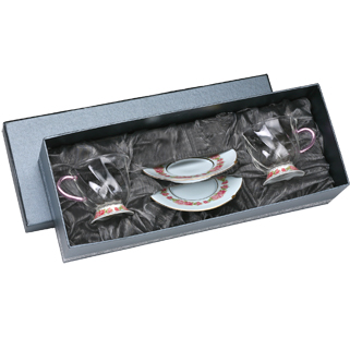 【佑銘嚴選GQ802F2】晶豔-玫瑰花茶杯碟(2入禮盒)/茶壺/茶杯/茶包