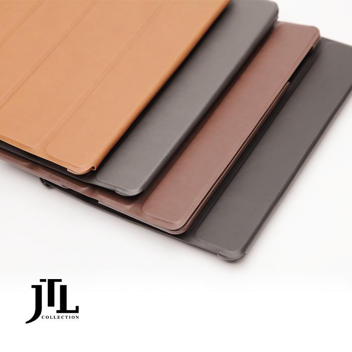 ?快速到貨? JTL iPad Air Smart Cover 真皮保護殼-咖啡/深灰色