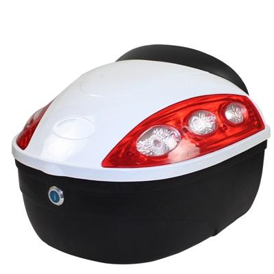 機車置物箱 後尾箱-堅固耐用安全鎖扣摩托車用品6色73q11【獨家進口】【米蘭精品】