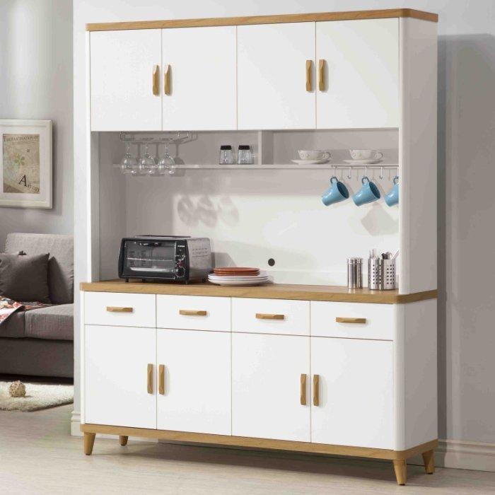 【尚品傢俱】K-403-17 5.3尺餐櫃~另有2.7尺、4尺餐櫃/碗盤碟櫃/廚房收納櫃/灶腳櫥櫃(EP907)