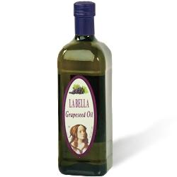 LA BELLA 樂貝納特級純葡萄籽油(每瓶1000ml)