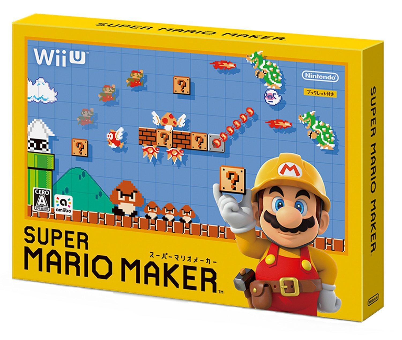 WiiU 超級瑪利歐製作大師(含畫冊特典) -日文日版- Super Mario Maker