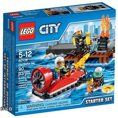 樂高積木LEGO《 LT60106 》2016 年 CITY 城市系列 - 消防入門套裝