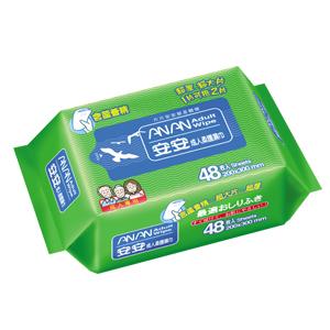 永大醫療~ 安安 成人柔護濕巾-加大型 (48抽)55元