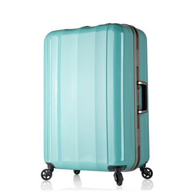 日本 LEGEND WALKER 6702-58-24吋 鋁框超輕量行李箱 薄荷綠