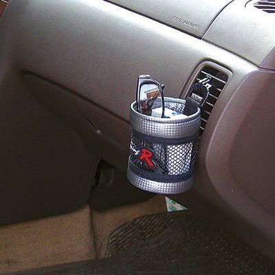 權世界@汽車用品 韓國 FOURING 汽車冷氣出風口夾式/黏貼式掛式手機袋收納置物袋 FR-161