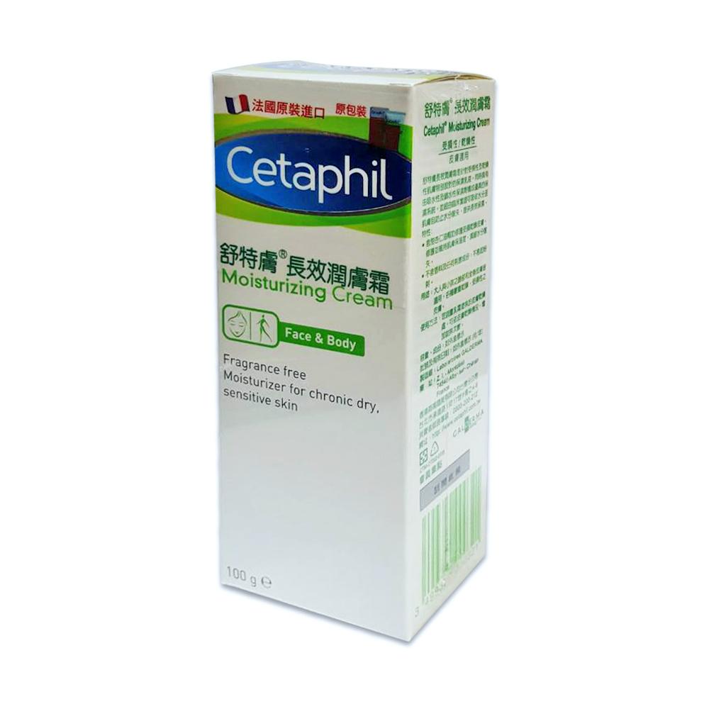 Cetaphil 舒特膚長效潤膚霜100g 公司貨中文標 PG美妝
