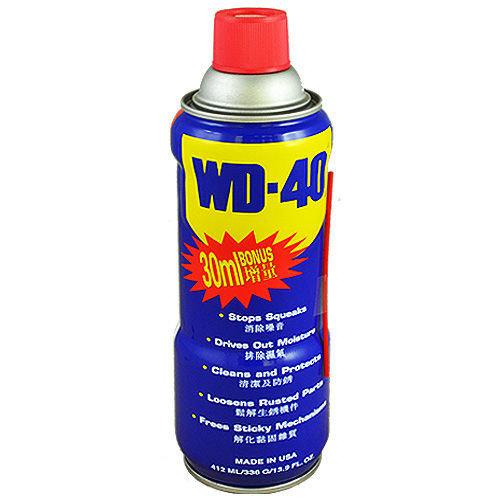 【台北益昌】《增量瓶 412ml》美國製 USA 防鏽油 WD-40 防鏽 潤滑油 WD40 412ml