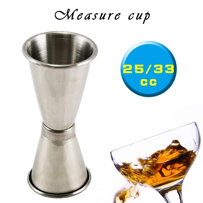 不鏽鋼專業量酒器25/33cc盎司杯/量酒杯 調酒器具 酒吧工具MEASURE CUP