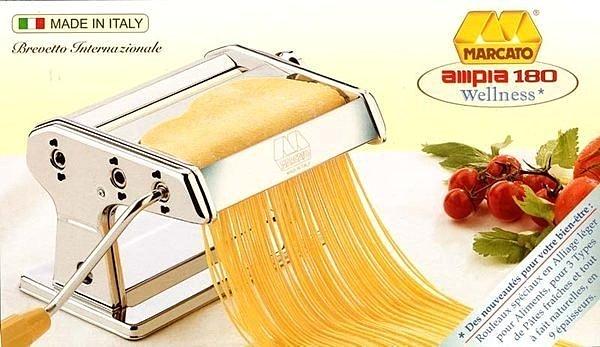 阿邦小舖 MARCATO義大利手動製麵機 (18CM) AMPIA-180 可加裝馬達 有 AMPIA-150