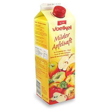 德國維可 Voelkel 有機蘋果汁 Demeter 1000ML/罐 整箱免運 瀉鹽4包