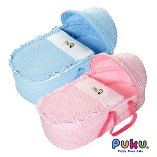 PUKU卡哇伊睡箱 2色可選 嬰兒睡床嬰兒睡箱【六甲媽咪】