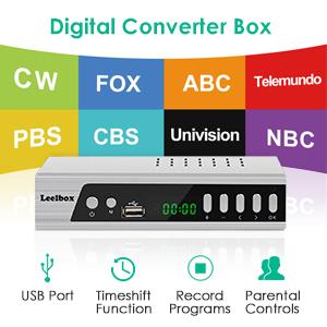 Leelbox: Digital Converter Box,Leelbox S3 ATSC Converter Box for
