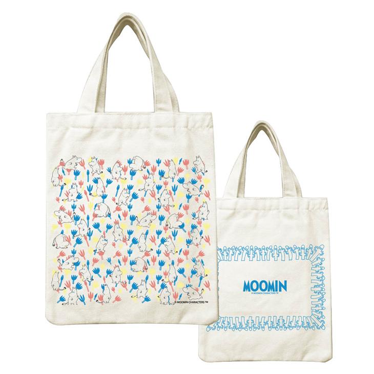 Moomin嚕嚕米正版授權 - 帆布包:【 Moomin精靈 】