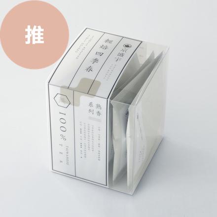 【100%台灣茶】京盛宇-熟香系列-輕焙四季春袋茶8入