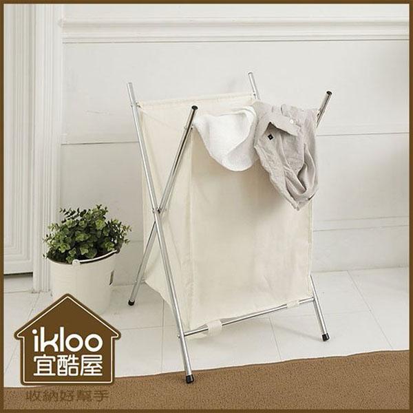 BO雜貨【YV9015】ikloo~附蓋髒衣收納籃 洗衣籃 髒衣籃 收納籃 好收納 置物籃 玩具籃 (單格)