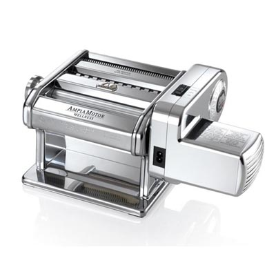 MARCATO義大利電動製麵機AM-180贈晾麵架+水餃皮壓模器