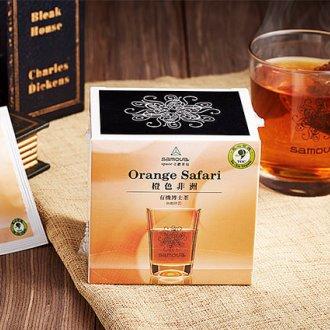 橙色非洲-有機博士茶(立體茶包10入)-帶紅茶香與濃郁香草莢風味: : 南非國寶茶 | 無咖啡因茶