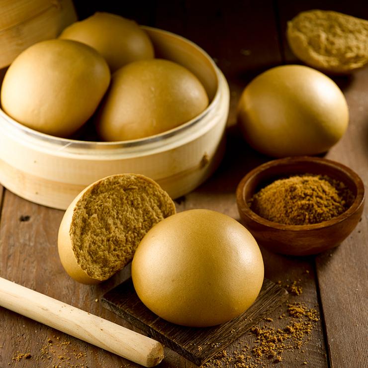 【黑糖饅頭】1包5入(每顆約125克+/-5克) ?玉食堂手工養生包子饅頭