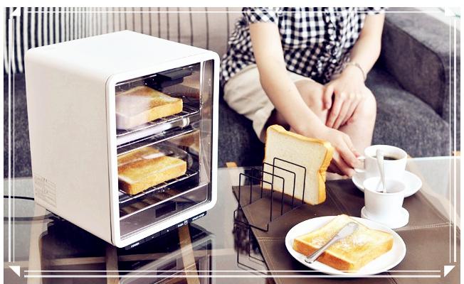 日本代購 ±0 Plusminuszero kitchenToaster Oven Vertical Type 長型雙層吐司麵包烤箱 (預購)