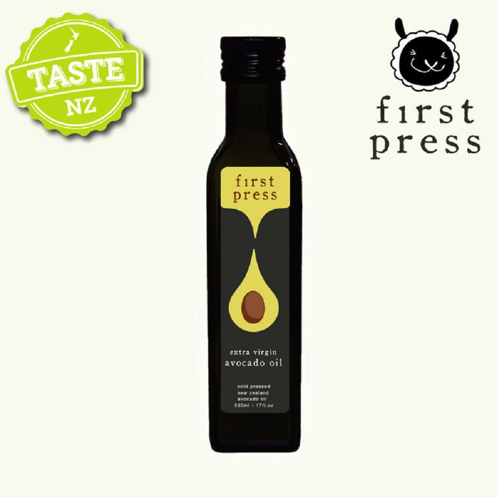 【壽滿趣- 紐西蘭原裝進口】First Press頂級冷壓初榨酪梨油(250ml 單瓶散裝)