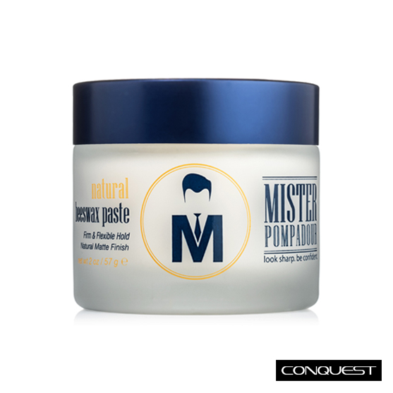 【 CONQUEST 】Mister Pompadour Natural Beeswax Paste 天然蜂蠟髮蠟 油頭