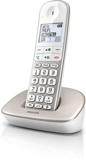 PHILIPS 飛利浦 大螢幕數位無線電話 XL4901S / XL-4901S