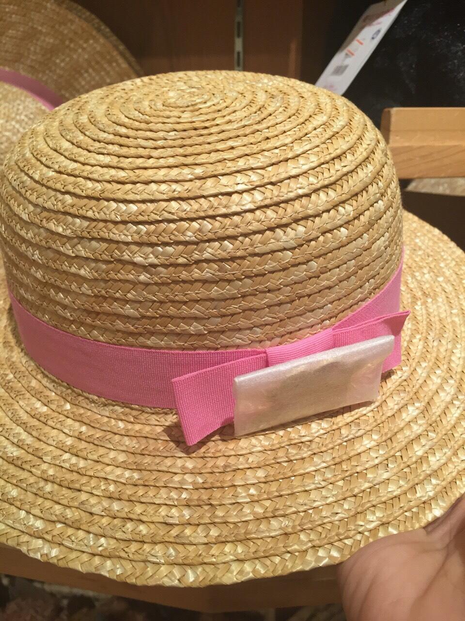 【真愛日本】15101400035 草帽-龍貓小梅54cm 帽子 預購 宮崎駿 龍貓 月 配件 草帽 防曬用品