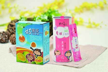 『新百祿』活力軟糖1盒+機能果凍條1罐