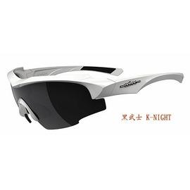 【凹凸眼鏡】ADHOC-K-NIGHT-W軍用級運動太陽眼鏡(白色)加贈夜視鏡片(黃片)~六期零利率~