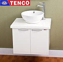 【東益氏】電光牌浴櫃系列STH01L1705-G0《65cm》人造大理石檯面+浴櫃+面盆+龍頭