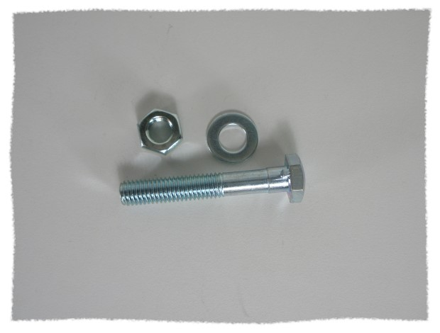座管螺絲 / 後架固定螺絲組 /長版5公分《意生自行車》