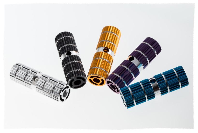 鋁合金有洞型火箭筒 / 火箭炮 / 腳踏桿《意生自行車》