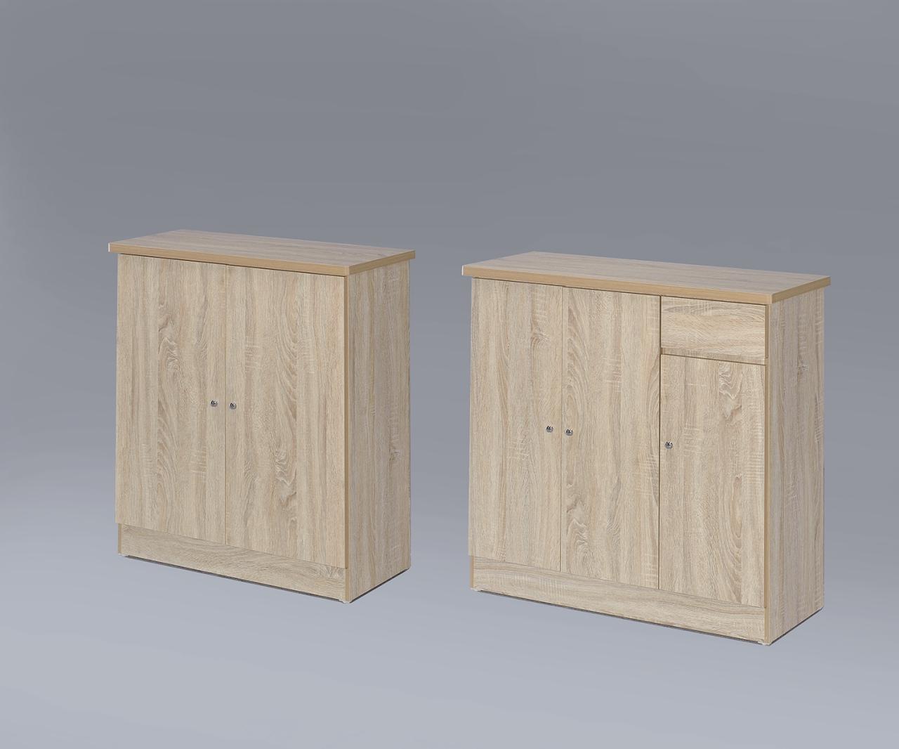 【尚品家具】GF-H20 橡木色3尺開門鞋櫃,超便宜~台中多區免運