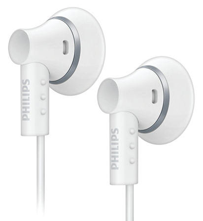 【迪特軍3C】PHILIPS 飛利浦 SHE3000 耳塞式耳機 白色