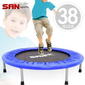 38吋彈跳床SAN SPORTS 跳跳樂(跳跳床彈簧床.彈跳樂彈跳器.平衡感兒童遊戲床.運動健身器材.推薦哪裡買) C144-38