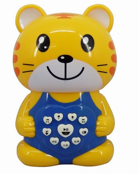 兒童益智科教玩具3C 音樂詩歌寵物餵養錄音6大功能胖小虎故事機