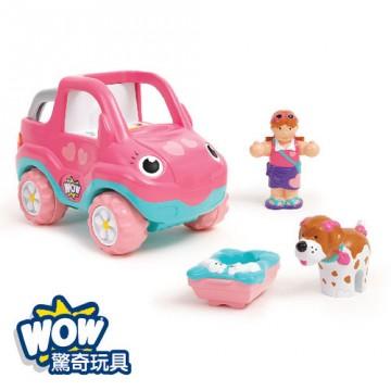 《 英國 WOW toys 》假期吉普車-佩妮