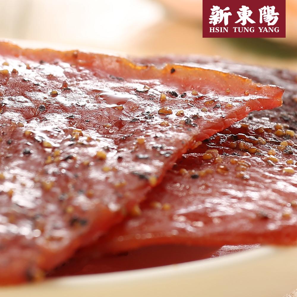【新東陽】黑胡椒豬肉乾120g