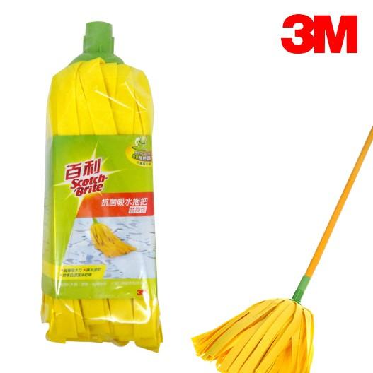 3M MB-R25 抗菌吸水拖把替換頭 ( 加長型拖把頭 )  大掃除 除舊布新 清潔 客廳清潔
