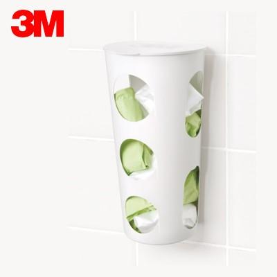 3M 17651 無痕廚房收納系列【塑膠袋收納筒】